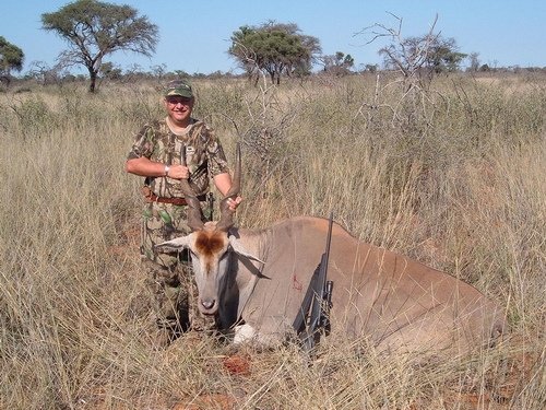 Morne with Eland at Ratelpan
